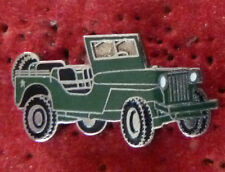 BEAU PIN'S VOITURE 4 X 4 JEEP MILITAIRE EGF