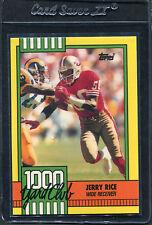 1990 Topps Jerry Rice 1000 Yard #1 Mint (E)