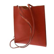 Auth HERMES Onimaitou Cross Body Shoulder Bag Pouch BR Box Calf Leather V03736