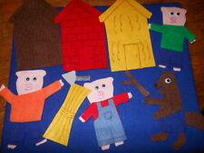 3 Little Pigs Felt Set for the Flannel Board
