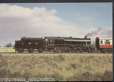 "Railway Postcard - Severn Valley Railway, L.M.S 5000 Train, ""Black 5's"" A8183"