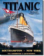 Titanic Weiße Stern Kühlschrankmagnet (de)
