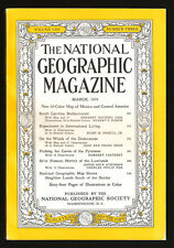NATIONAL GEOGRAPHIC MAGAZINE MARCH 1953 Pyrenees