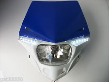 UFO ROAD LEGAL HEADLIGHT ENDURO STREETFIGHTER YZF WR WRF DT XT YZF426 DT125 XTZ