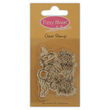 BUTTERFLY - FIZZY MOON - MINI CLEAR PHOTOPOLYMER STAMP