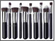 10 PCS Professional Make up Brush Set Foundation, Blusher, Powder Kabuki Brushes