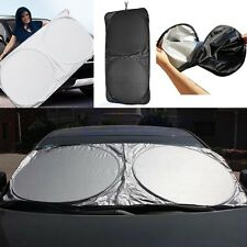 Jumbo Folding Front Rear Car Window Sun Shade Auto Visor Windshield Cover Block
