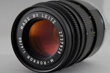 =N.Mint-= Leitz Minolta M-Rokkor 90mm f/4 Leica M Mount + Filter from Japan #o27