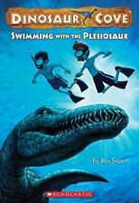 Swimming with the Plesiosaur (Dinosaur Cove)-ExLibrary