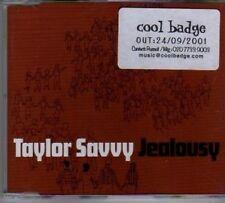 (BF912) Taylor Savvy, Jealousy - 2001 DJ CD