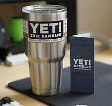 OEM 30 oz Yeti Rambler Cooler Tumbler Stainless Steel Cup Coffee Mug 2016 New