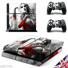Harley Quinn Suicid Squad PS4 Playstation 4 Skin Sticker Wrap Console Controller