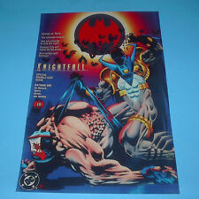 DC COMICS FAMOUS COVERS BATMAN KNIGHTFALL BANE #500 POSTER PIN UP