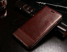 For Samsung Galaxy S6 Slim Leather Case Wallet Card Holder Flip Stand Cover