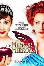 Mirror, Mirror Original Double-Sided Advance Rolled Movie Poster 27x40 NEW 2012
