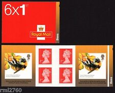 2015 BEES - STAMP BOOKLET Non Cylinder M15L + MCIL PM48 3743a