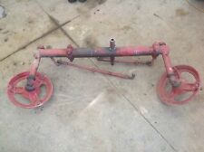 Used Farmall A Tractor Front End