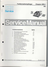 Service Manual Philips Colour Farb TV Chassis GR2.1 (90)
