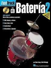 Fast Track Bateria 2 Learn to Play Drums Spanish Edition Music Book & CD