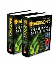 Harrison's Principles of Internal Medicine, Volumes 1 & 2 (2004, Hardcover)