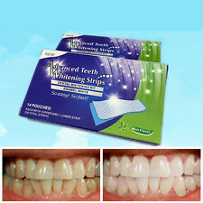 Hot Unisex Teeth Whitening Strips Tooth Bleaching Whiter Whitestrips Oral Care