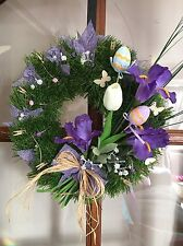 Spring Wreath,Easter Door Wreath,Table Decoration,Hand Made,
