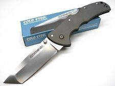 CS58TPCT COLD STEEL Aluminum CODE 4 Straight TANTO CTS XHP Folding Pocket Knife