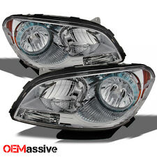 2008-2012 Malibu Replacement Headlights Headlamps Lamp Left+Right 08 09 10 11 12