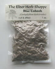 Blue Cohosh Root Cut & Sifted 1 oz - The Elder Herb Shoppe