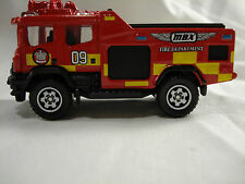 Matchbox Blaze Blitzer Fire Engine Loose from a multi pack red  HTF