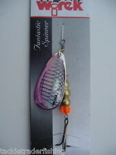WIREK LUSK HOLOGRAPHIC SPINNER LURE 10g - SIZE 3 BLADE - for PREDATORY FISH - pk