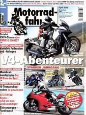 MF1204 + HONDA VFR 1200 X Crosstourer + BMW G 650 GS vs. SUZUKI V-Strom 650 ABS