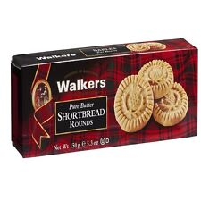 Walkers Pure Butter Scottish Shortbread Thistle Rounds-150g- Made in Scotland