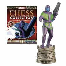 Marvel Comics Kang Black Rook Chess Piece with Collector Magazine