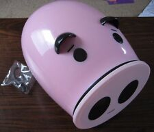 Merax CD/DVD Storage Case - Cute Piggy - Holds Up To 60 - 1 Touch Glide Drawer