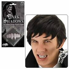 DARK SHADOW BARNABAS COLLINS TIM BURTON VAMPIRE GOTHIC COSTUME FANGS TEETH
