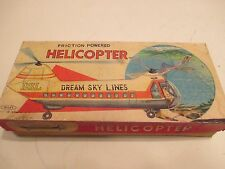 DREAM SKY HELICOPTER MINT IN BOX CONDITIO ALL TIN MADE IN JAPAN BY HAJI