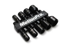 "Motion Pro 9 PC. Magnetic Nut Driver Set 1/4"" Hex Drive Metric Sockets Tool"