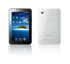 NEW Samsung Galaxy Tab GT-P1000 16GB Android WiFi 3G CHIC WHITE Unlocked