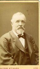 FRANCE PHOTO CDV LYON VICTOIRE un homme pose circa 1880