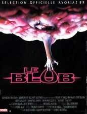 Blob 1988 Poster 02 A2 Box Canvas Print
