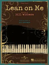 Lean on Me Sheet Music Easy Piano Bill Withers NEW 000110164