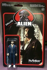 "Alien ReAction Figures 3 3/4"" Inch DALLAS 1979 Figure MOC Funko NEW"