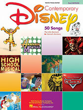 Contemporary Disney 2nd Edition PVG Piano Vocal Guitar Song Book
