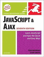 JavaScript and Ajax for the Web: Visual QuickStart Guide (7th Edition) Negrino,