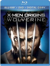 X-Men Origins: Wolverine (Blu-ray/DVD, 2011, ) 3 Disc Set