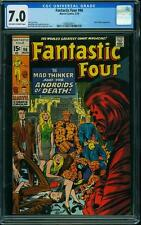 FANTASTIC FOUR # 96 US MARVEL 1970 Mad Thinker  KIRBY  FN-VFN CGC 7.0