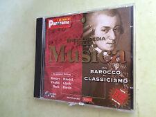 cd audio enciclopedia della musica dal barocco al classicismo 15 ore di musica