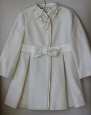 LAPIN HOUSE BABY IVORY COAT 2 YEARS