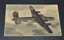 CPA AVIATION WW2 CONSOLIDATED LIBERATOR USAF GUERRE 39-45 Ph. CHARBONNEAUX